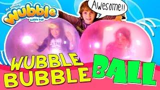 WUBBLE BUBBLE ball Review * Jugamos con una BURBUJA GIGANTE Wubble Bubble en ESPAÑOL thumbnail