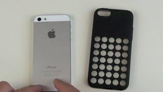 iPhone 5c Case Test Kompatibilität mit iPhone 5s und 5