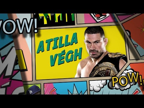 Level Lama vs Attila Végh #lvl lama UFC 2
