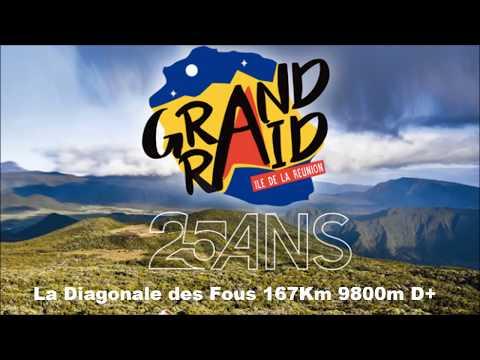 Grand Raid de La Réunion 2017 - La Diagonale des Fous en caméra embarquée...