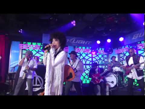 Andy Allo On Jimmy Kimmel