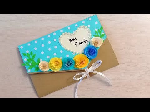 Friendship Day Card Idea How To Make Friendship Day Card