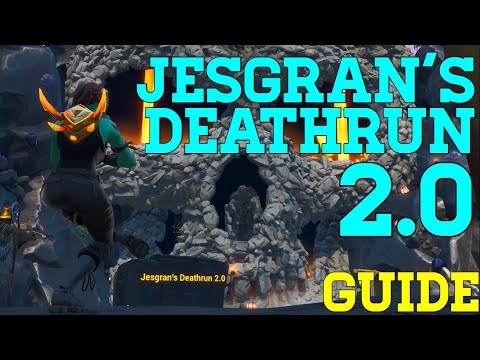 How To Complete Jesgrans Deathrun 2.0 (All Levels) - Fortnite Creative Guide