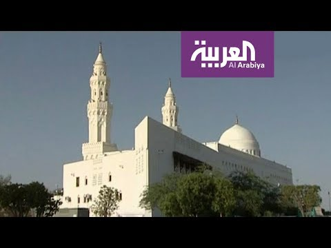 وأن المساجد لله | مسجد القبلتين يقع في الطرف الغربي من المدينة المنورة وبني في العام الثاني للهجرة