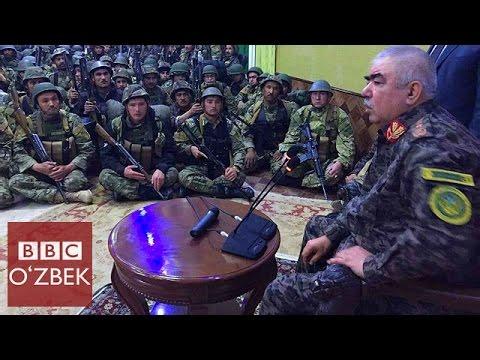 Генерал Дўстум тан қўриқчиларини топширди - BBC O