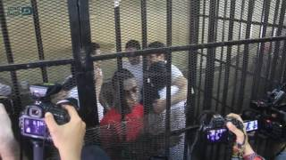 شاهد رد فعل آية حجازي ومتهمي «جمعية بلادي» على البراءة