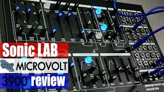Sonic LAB: Pittsburgh Modular Microvolt 3900 Synth