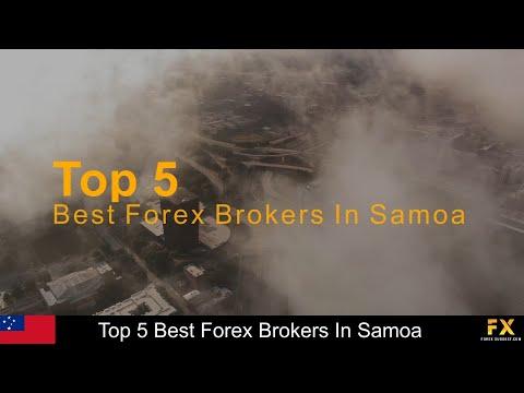 Best Forex Brokers In Samoa📈