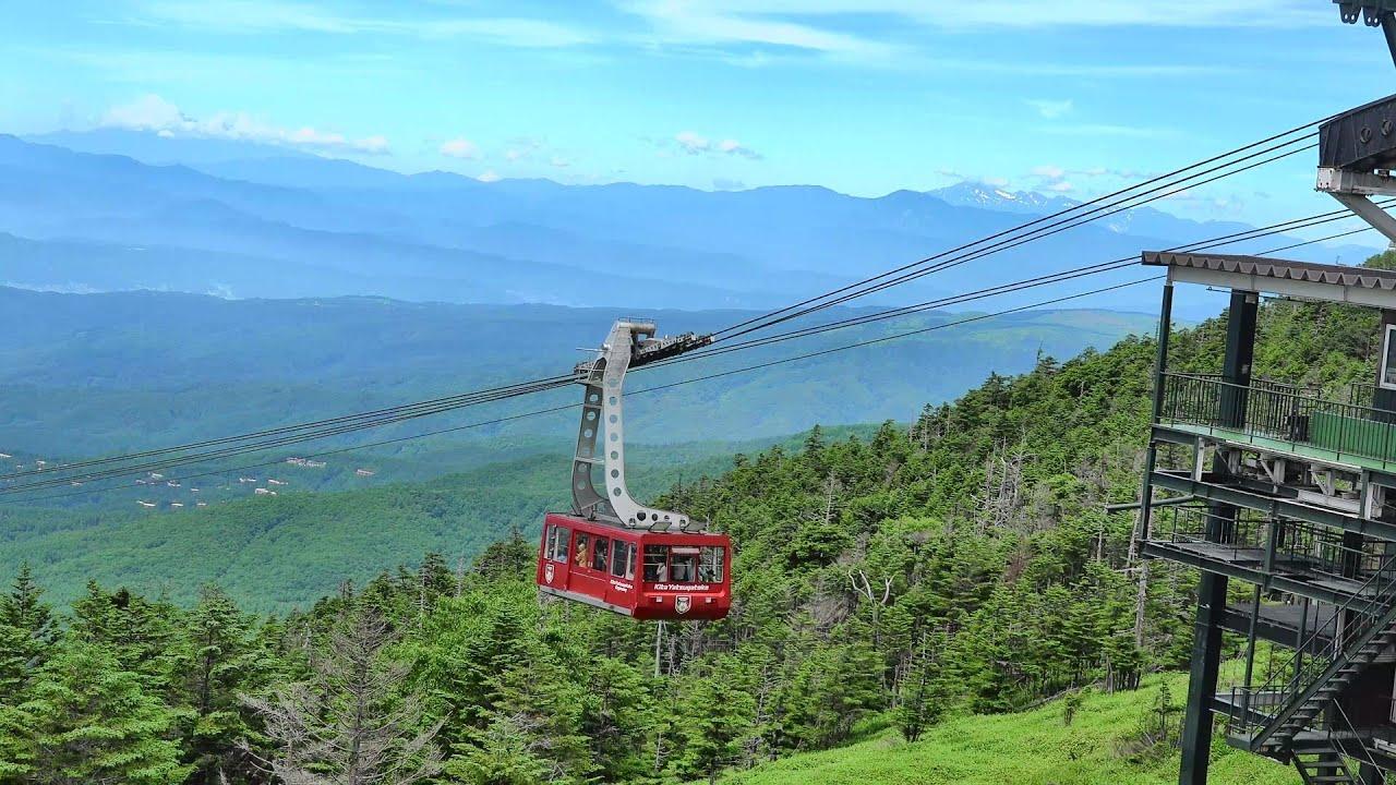 北 八ヶ岳 ロープウェイ 北八ヶ岳ロープウェイ - 蓼科山、北横岳、縞枯山の登山口情報
