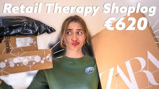 UNBOXING van een MENTAL BREAKDOWN shopping sessie😅 Bijenkorf, Zara, Mango, Loavies💸