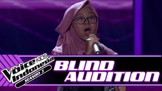 Ghania - Helium | Blind Auditions | The Voice Kids Indonesia Season 3 GTV 2018