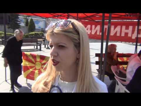 Иницијативата За заедничка Македонија организираше акција за мерење крвен притисок