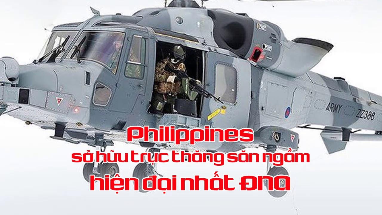 Philippines sở hữu trực thăng săn ngầm hiện đại nhất ĐNA