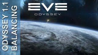 EVE Online - Odyssey 1.1 rebalancing
