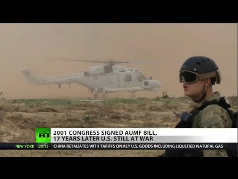 US Military Force Act Still Being Used 17 Years Later