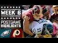 Download Eagles vs. Redskins | NFL Week 6 Game Highlights