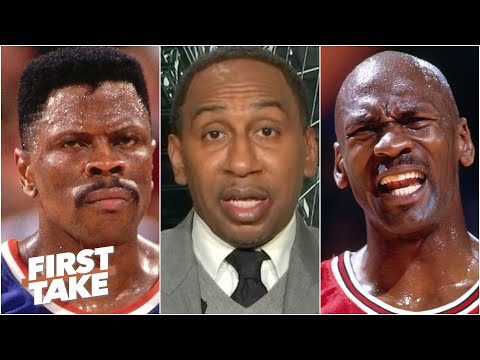 Patrick Ewing's Legacy Suffered Due To Michael Jordan's Greatness - Stephen A. | First Take
