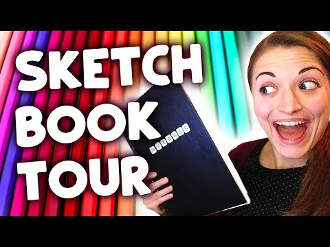 old-sketchbook-tour!-(awkwardly-embarrassing)