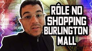 Rôle no Shopping dos EUA -Burlington Mall