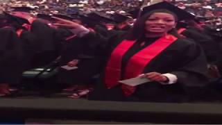 Erica Dixon graduates college! HOT Reality TV  star has her Bachelor of Science in nursing! #LHHATL