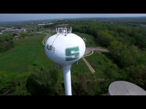 slippery-rock-university-campus-aerial-video