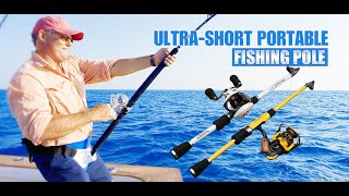 Spinning Fishing Rod M Power Telescopic Rock Fishing Rod