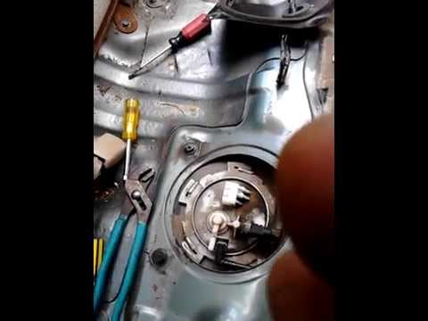 How to removed fuel pump 2004 nissan altima 25 4cylinder code p0462 part 2  YouTube