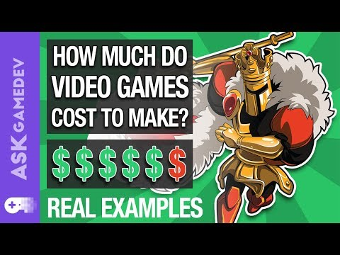 How Much Do Video Games Cost To Make? 5 Real Examples! [2019]