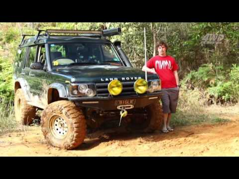 Toby Cox Discovery 2001 TD5 Series 2
