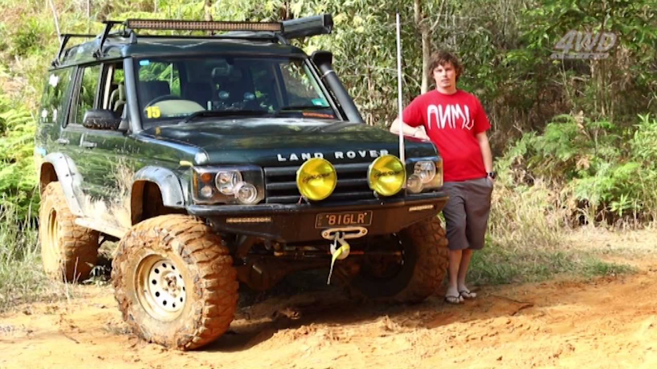Toby Cox Discovery 2001 Td5 Series 2 Youtube