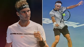 RAFAEL NADAL | Best Points vs Federer 2017 (HD)