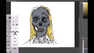 Speed Drawing on the Surface Pro 3 Teaser