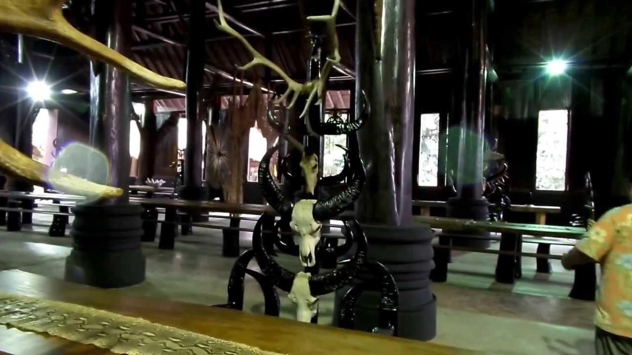 CHIANG RAI BAAN DAM THE BLACK HOUSE PART 1 - YouTube