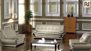 2801 - Bonded Leather Sofa Set Vgdm2801-bl From Vig Furniture
