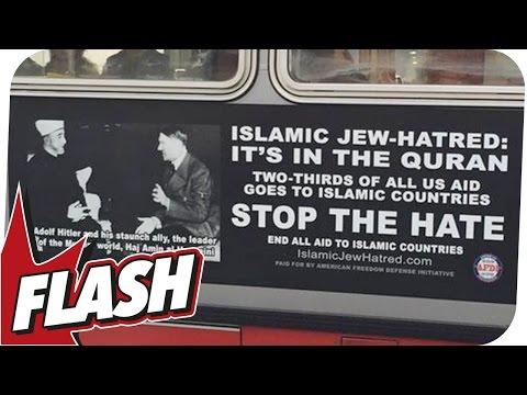 Islam-Hetze mit Hitler legal und Anschlag auf Eiffelturm? I FLASH