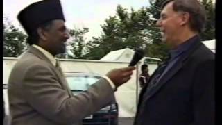 Various Interviews at Jalsa Salana UK 1998 Islam Ahmadiyya