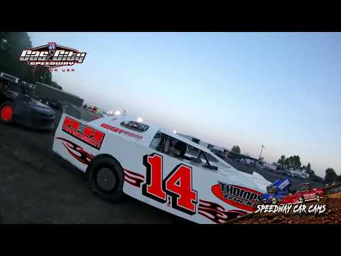 Winner #14 Bill Lewis - Super Street - 5-24-19 Gas City I-69 Speedway - In Car Camera