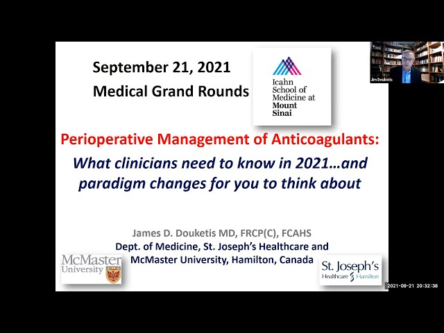 Perioperative Management of Anticoagulants: What clinicians need to know in 2021