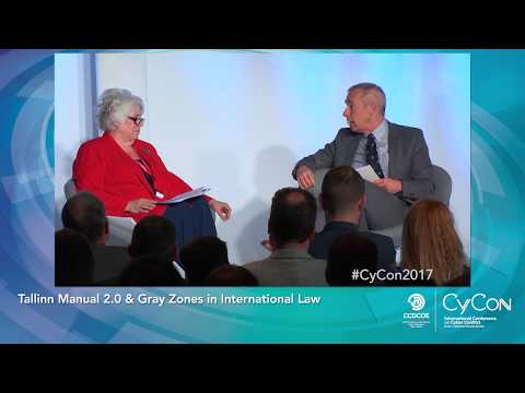 Tallinn Manual 2.0 & Gray Zones in International Law - CyCon 2017