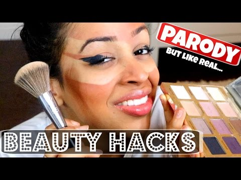 THE WORLD'S BEST BEAUTY HACKS! - Liza Koshy