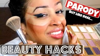 vuclip THE WORLD'S BEST BEAUTY HACKS!