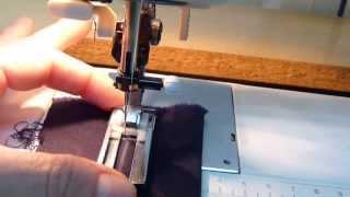 tutorial de como hacer ojales a máquina en cuatro pasos.