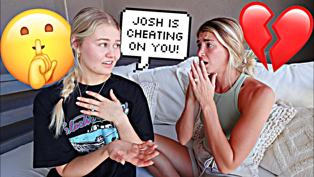 She Told Me My Husband Cheated On Me....