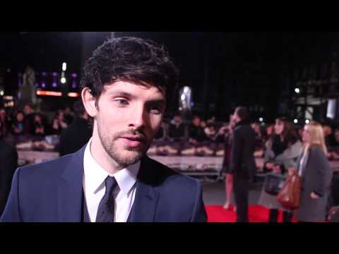 Colin Morgan at the Testament of Youth premiere.