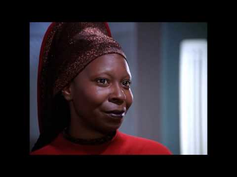 Q vs. Guinan - Star Trek TNG - Whoopi Goldberg