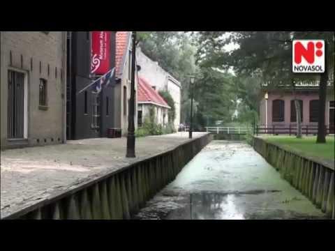 Semestra i Joure i holländska provinsen Friesland