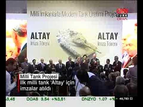 Turkish Tank Project (ALTAI) Turk Tank Projesi