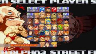 PSP Street Fighter Alpha 3 Max Gameplay