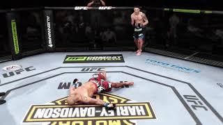 Throwback Gameplay EA Sports UFC Chris Weidman Knocks Out Wanderli Silva HD