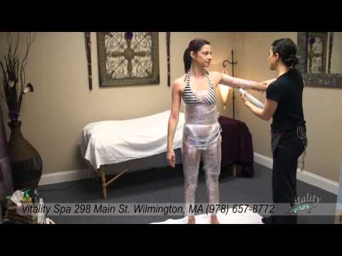 Body Wrap and Massage, at Vitality Spa, Wilmington MA (978) 657-8772